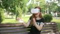 ヘッドセット バーチャルリアリティ VRの動画 25979422