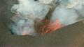 火口 噴火口 溶岩の動画 25980534