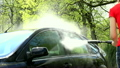 water drops splashing from automobile car washed 26062103