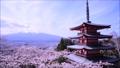 富士山と忠霊塔 26086447