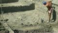 Archaeologist excavate kitchen of fourteenth 26159472