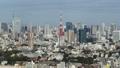 ภูมิทัศน์ของกรุงโตเกียวสภาพอากาศที่ดีของกรุงโตเกียวโตเกียวทาวเวอร์ Toranomon Hamamatsucho Minato-ku 26202425