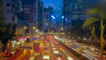 Traffic at Night in Hong Kong 26329083