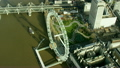 Aerial view of London Eye in Capital city of England 26383830