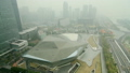 Aerial shot of Guangzhou city under haze 26468962
