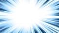 【漫画·动感风格效果】浓度线/蓝色/ 30秒循环 26705369
