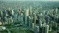 空撮 シカゴ 朝焼けの動画 26852018