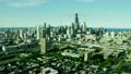 空撮 シカゴ スカイラインの動画 26852045