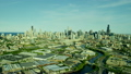 空撮 シカゴ スカイラインの動画 26852091