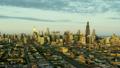 空撮 シカゴ 夕日の動画 26852192