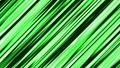 【マンガ・アニメ風効果】流線・スイッシュ(右上から左下へ)/緑/15秒ループ 26888869