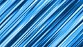 【マンガ・アニメ風効果】流線・スイッシュ(左下から右上へ)/青/15秒ループ 26888874