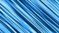 【マンガ・アニメ風効果】流線・スイッシュ(右下から左上へ)/青/15秒ループ 26888881