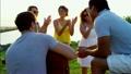 ビーチ 浜辺 ピクニックの動画 26898270