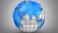 ワールドマップ 地球儀 球体の動画 27002015