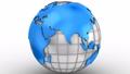 ワールドマップ 地球儀 球体の動画 27002016