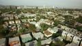 단풍의 공중 촬영 주택가 09 로스 앤젤레스 27099661