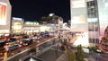 도쿄 황혼 붐비는 신주쿠 역 남쪽 출구 시간 경과 수정 27429813