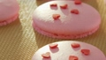 Pink macaroon - biscuits dessert. Macaroon 27436061