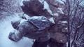 男 氷結 雪の動画 27500633