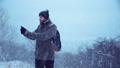 男 冷たい 寒いの動画 27500673
