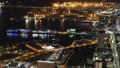 メガポリス横浜 みなとみらいと横浜港 夜景 タイムラプス パン 27573834