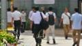 都内の風景 歩行者イメージ映像 27581807