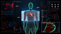 Female body scanning heart.cardiovascular system.2 27666556