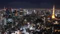 東京 タイムラプス 夜景の動画 27696726