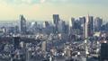 Megapolis東京新宿摩天大樓小組覆蓋雲彩時間間隔麵包 27697918