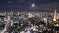 東京 タイムラプス 六本木の動画 27703170
