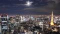 東京 タイムラプス 六本木の動画 27703174