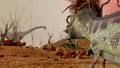 Dinosaur. Prehistoric Jungle, landscape, valley 27780517