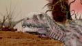 Dinosaur. Prehistoric Jungle, landscape, valley 27780523