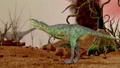Dinosaur. Prehistoric Jungle, landscape, valley 27780586