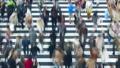 東京タイムラプス 汎用 大都会東京の交差点を行き交う群衆 流れる ハイスピード FIX 27785210
