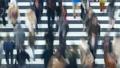 東京タイムラプス 汎用 大都会東京の交差点を行き交う群衆 ズームアウト 27785219