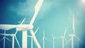FullHD resolution, wind turbine, generator on sky 27814052