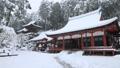 1月 積雪の長命(ちょうめい)寺 近江の冬景色 28069165