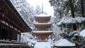 1月 積雪の長命(ちょうめい)寺 近江の冬景色 28069166
