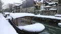 1月 雪の八幡掘 近江の雪景色 28069169