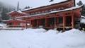 1月 雪の阿弥陀堂と多宝塔 比叡山延暦寺の東塔 28069173