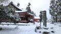 1月 雪の大講堂 比叡山延暦寺の東塔 28069174