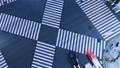 縦横両用素材 東京タイムラプス 夜景 銀座 有楽町 数寄屋橋スクランブル交差点 俯瞰 パン 28230815