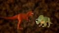 トリケラトプスとティラノサウルス 28250151