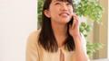 若い女性、電話、スマホ 28404008