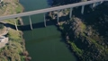Aerial View Bridge near Town Mertola 28559557