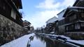 1月 雪の八幡掘 近江の雪景色 28691202