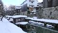 1月 雪の八幡掘 近江の雪景色 28691203