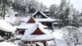 1月 積雪の長命(ちょうめい)寺 近江の冬景色 28691210